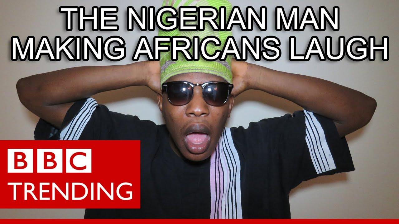 Dami Olatunde – the Nigerian man making Africans laugh. (BBC Trending)
