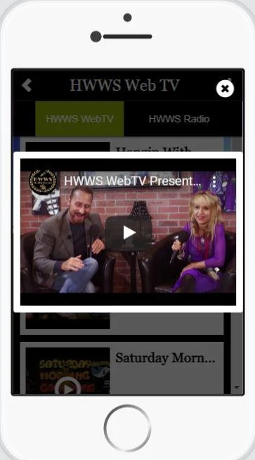free streaming apps HWWS WebTV Perfect