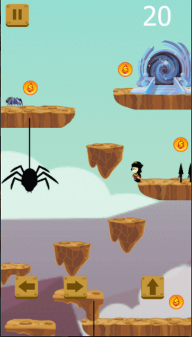 Awesome Game George Pontos Jump Adventures