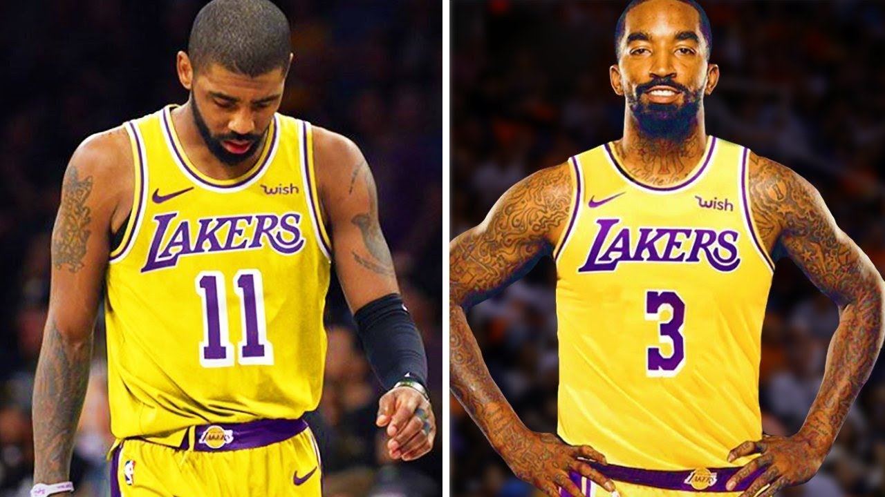 kyrie irving trade to lakers